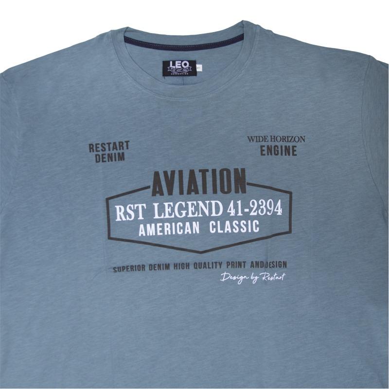 530604b7312a T-Shirt βαμβακερή φλάμα μεταξοτυπία