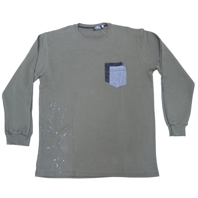 90355e97b512 Ανοιξιάτικη μπλούζα μακρυμάνικη με λαιμόκοψη
