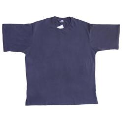 851d1be84f83 Μακό T-shirt μονόχρωμο - ΜΠΛΕ